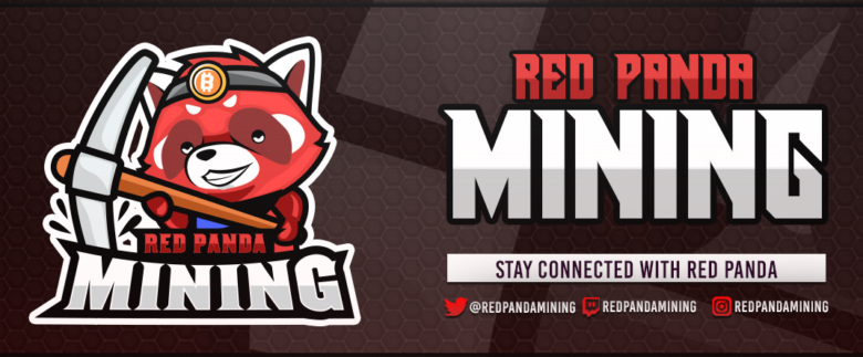 red panda mining banner